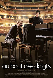"Movie poster for ""AU BOUT DES DOIGTS"""