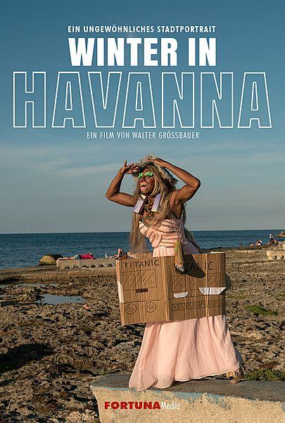 """Filmplakat für """"Winter in Havanna - Filmstart in Österreich"""""""