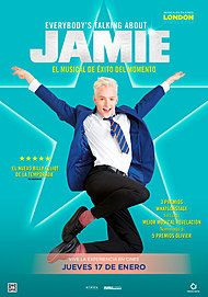 """Movie poster for """"EVERYBODY'S TALKING ABOUT JAMIE"""""""