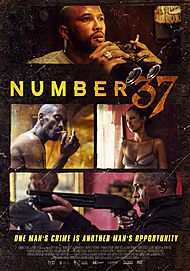 """Movie poster for """"NUMBER 37"""""""