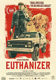 """Movie poster for """"EUTHANIZER"""""""