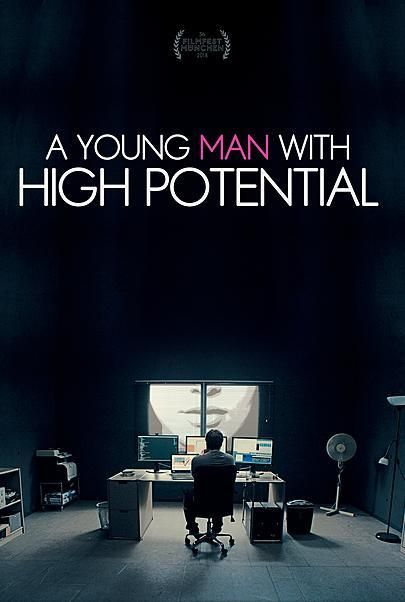 "Movie poster for ""A Young Man with High Potential"""