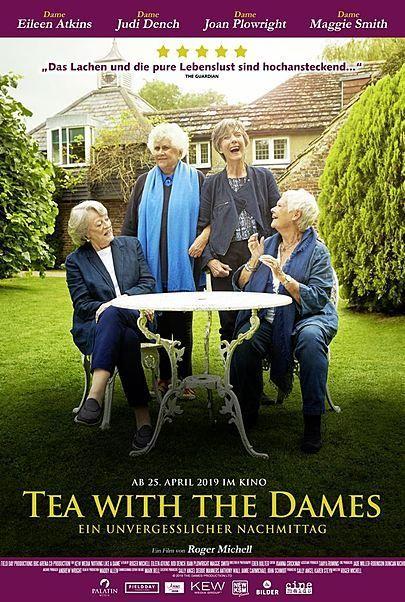 """Filmplakat für """"Tea with the Dames - Ein unvergesslicher Nachmittag"""""""