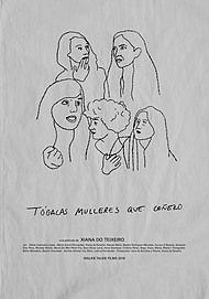 """Movie poster for """" TODALAS MULLERES QUE COÑEZO"""""""