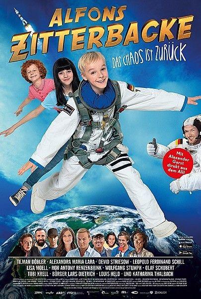 "Movie poster for ""Alfons Zitterbacke - Das Chaos ist zurück"""