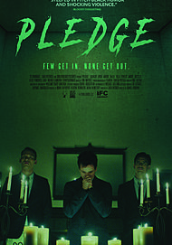 "Movie poster for ""PLEDGE"""