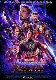 """Movie poster for """"AVENGERS: ENDGAME"""""""