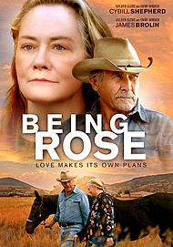 "Movie poster for ""BEING ROSE"""