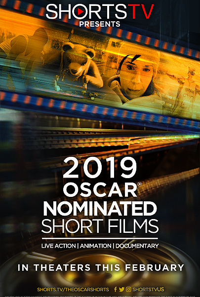 "Movie poster for ""2019 OSCAR SHORTS"""