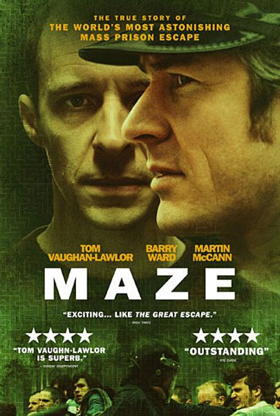 """Movie poster for """"MAZE"""""""