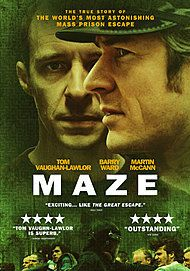 "Movie poster for ""MAZE"""