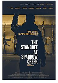 "Movie poster for ""THE STANDOFF AT SPARROW CREEK"""