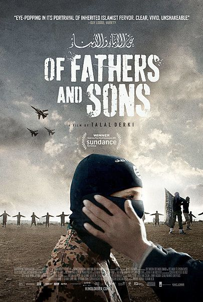 """Movie poster for """"OF FATHERS AND SONS"""""""