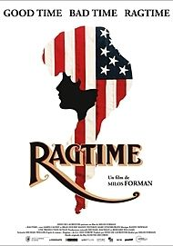 "Movie poster for ""RAGTIME"""