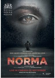 "Movie poster for ""NORMA (Royal Opera House)"""