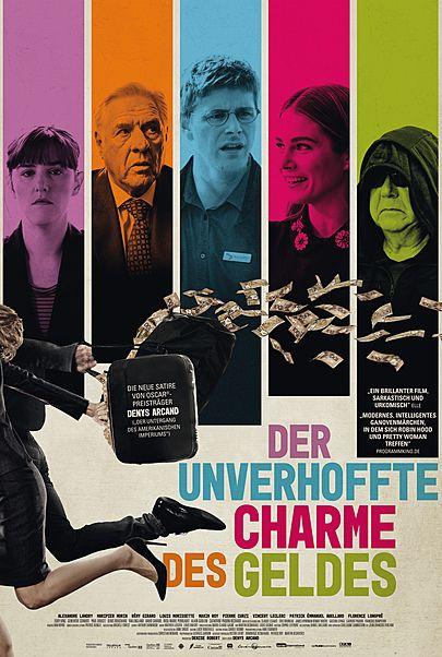 """Filmplakat für """"DER UNVERHOFFTE CHARME DES GELDES"""""""