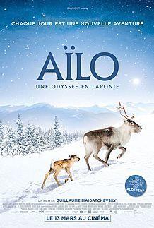 """Affiche du film """"AILO : UNE ODYSSEE EN LAPONIE"""""""