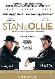 """Movie poster for """"STAN & OLLIE"""""""