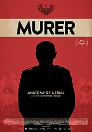 "Movie poster for ""MURER - ANATOMY OF A TRIAL"""