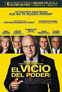 """Póster para """"EL VICIO DEL PODER"""""""