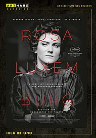 "Movie poster for ""Rosa Luxemburg"""
