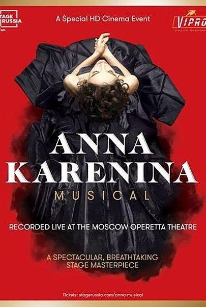 """Movie poster for """"ANNA KARENINA MUSICAL 2018"""""""