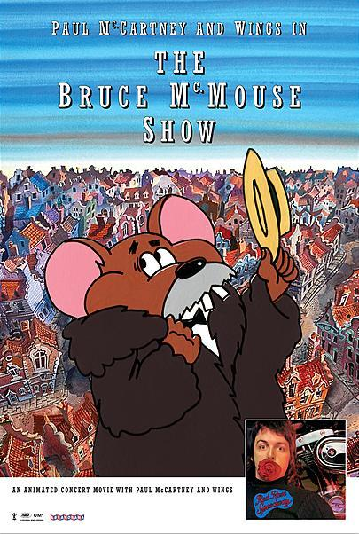 """Movie poster for """"THE BRUCE MCMOUSE SHOW"""""""