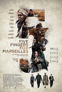 "Filmplakat für ""Five Fingers for Marseilles"""