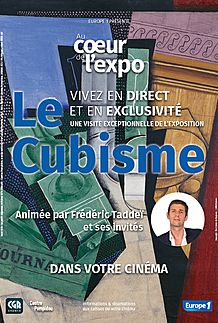 "Movie poster for ""AU COEUR DE L'EXPO - LE CUBISME"""