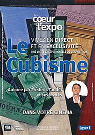 """Movie poster for """"AU COEUR DE L'EXPO - LE CUBISME"""""""