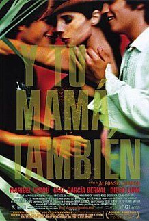 "Movie poster for ""Y TU MAMA TAMBIEN"""