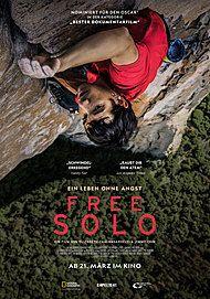 """Filmplakat für """"FREE SOLO"""""""