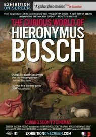 "Movie poster for ""THE CURIOUS WORLD OF HIERONYMUS BOSCH (EHXIBITION ON SCREEN)"""