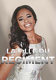 """Affiche du film """"LA FILLE DU REGIMENT ( MET - PATHE LIVE)"""""""