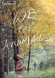 """Movie poster for """"WE THE ANIMALS"""""""