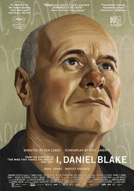 "Movie poster for ""I DANIEL BLAKE"""