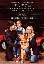 """Filmplakat für """"ENZO UND DIE WUNDERSAME WELT DER MENSCHEN"""""""