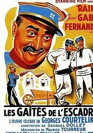 """Movie poster for """" LES GAITES DE L'ESCADRON"""""""