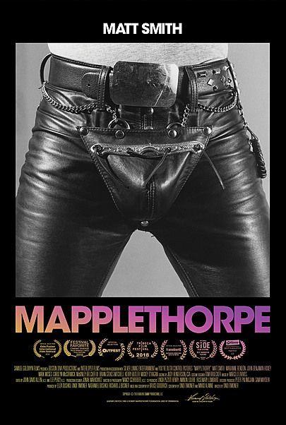"""Movie poster for """"MAPPLETHORPE"""""""