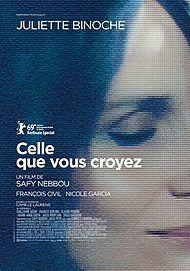 """Affiche du film """"CELLE QUE VOUS CROYEZ"""""""