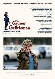 """Movie poster for """"Ein Gauner & Gentleman - Filmstart für Österreich"""""""