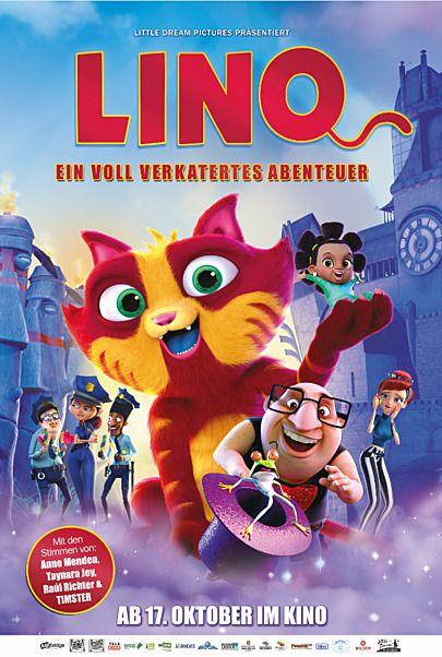 """Filmplakat für """"LINO - EIN VOLL VERKATERTES ABENTEUER"""""""