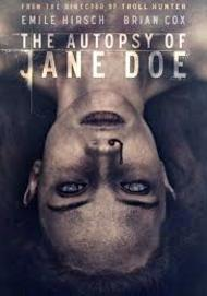 "Movie poster for ""THE AUTOPSY OF JANE DOE"""