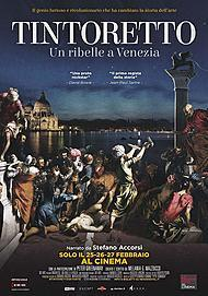 "Movie poster for ""TINTORETTO. UN RIBELLE A VENEZIA"""