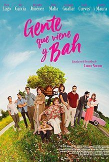 "Movie poster for ""GENTE QUE VIENE Y BAH"""
