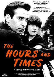 "Movie poster for ""THE HOURS AND TIMES"""
