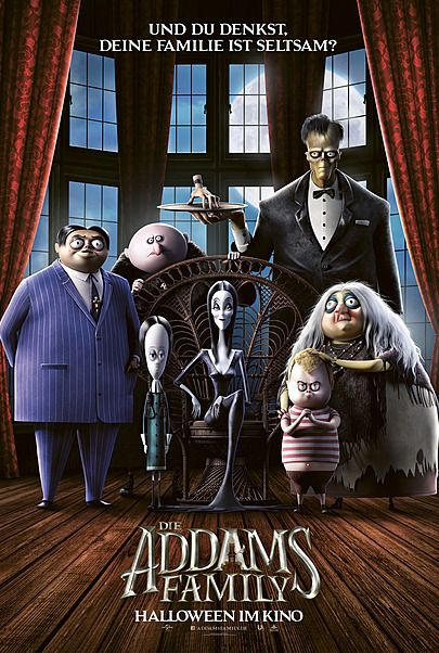 """Movie poster for """"THE ADDAMS FAMILY"""""""
