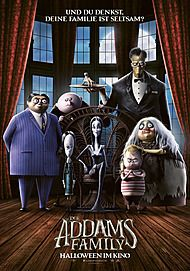 "Movie poster for ""THE ADDAMS FAMILY """