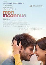 """Affiche du film """"MON INCONNUE"""""""