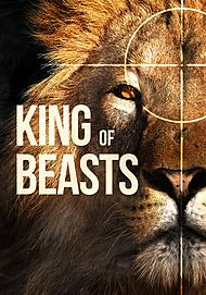 "Movie poster for ""KING OF BEASTS"""